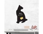 Selbstklebende KreidetafelnKatzenSelbstklebende Kreidetafel: Siam - Siamese Katze