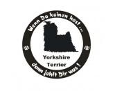 Leben & WohnenFußmatten & LäuferWenn Du Keinen Hast ... Hunde Aufkleber: Yorkshire Terrier