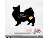 Socken mit TiermotivSocken mit HundemotivKreidetafel Hunderasse: Papillon 1