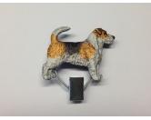Figuren & EmblemeTürschilder & MetallemblemeHundeausstellungs-Startnummern-Clip: Jack Russell Terrier 2
