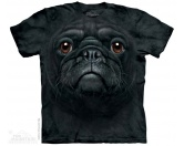RestpostenThe Mountain T-Shirt - Mops  Black Pug Face