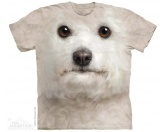 RestpostenThe Mountain T-Shirt - Bichon Frise Face