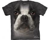 Küche & HaushaltServiettenThe Mountain T-Shirt - Französische Bulldogge - Frenchy Face -L-