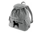 SchnäppchenCanvas Rucksack Hunderasse: Bullmastiff