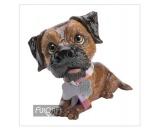 DuftbäumeHundemotiv DuftbäumeArora Deko Hunde Figur: Terri Der Border Terrier -klein-