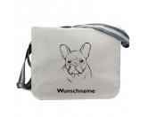 Für MenschenAuto-SonnenschutzBaumwoll-Tasche: Französische Bulldogge 6