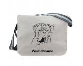 Für MenschenAuto-SonnenschutzBaumwoll-Tasche: Bordeaux Dogge 2