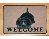 Tierische FußmattenStandard Fussmatte: Labrador Welpe