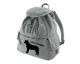 Bekleidung & AccessoiresHundesportwesten mit Hundemotiven inkl. Rückentasche MIL-TEC ®Canvas Rucksack Hunderasse: Australian Cattle Dog