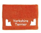 Tiermotiv Tassen3D Tassen HundeHandtuch: Yorkie - Yorkshire Terrier 2