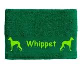 Tiermotiv Tassen3D Tassen HundeHandtuch: Whippet 2