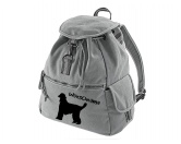 Bekleidung & AccessoiresHundesportwesten mit Hundemotiven inkl. Rückentasche MIL-TEC ®Canvas Rucksack Hunderasse: Afghane 1