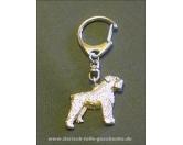Tiermotiv Tassen3D Tassen HundeSchlüsselanhänger Softcoated Wheaten Terrier