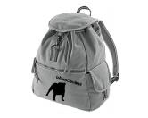 SchnäppchenCanvas Rucksack Hunderasse: Bulldogge