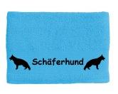 Warnwesten & SicherheitswestenWarnwesten mit Hunderasse MotivenHandtuch: Schäferhund 1