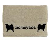 Tierkalender 2019Hundekalender 2019Handtuch: Samoyede - Samojede 1
