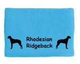 AusstellungszubehörHunderassen Ringclips vergoldetHandtuch: Rhodesian Ridgeback 1
