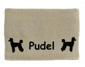 Taschen & RucksäckeCanvas Tasche HunderasseHandtuch: Pudel 1