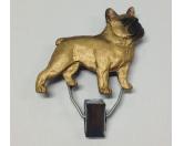 DuftbäumeHundemotiv DuftbäumeHundeausstellungs-Startnummern-Clip: Französische Bulldogge Fawn