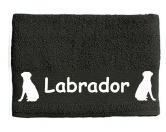 DuftbäumeHundemotiv DuftbäumeHandtuch: Labrador 4