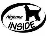 Backformen & ZubehörAusstechförmchen HundeInside Aufkleber: Afghane 1