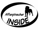 Bekleidung & AccessoiresHundesportwesten mit Hundemotiven inkl. Rückentasche MIL-TEC ®Inside Aufkleber: Affenpinscher