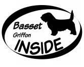 Bekleidung & AccessoiresHundesportwesten mit Hundemotiven inkl. Rückentasche MIL-TEC ®Inside Aufkleber: Basset Griffon Vendeen