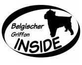 Schmuck & AccessoiresVersilberte AnhängerInside Aufkleber: Belgischer Griffon