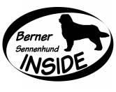 Tierkalender 2019Hundekalender 2019Inside Aufkleber: Berner Sennenhund 2