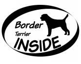 Bekleidung & AccessoiresHundesportwesten mit Hundemotiven inkl. Rückentasche MIL-TEC ®Inside Aufkleber: Border Terrier