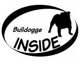 Leben & WohnenHundemotiv HandtücherInside Aufkleber: Bulldogge (engl.)
