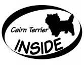 Warnwesten & SicherheitswestenWarnwesten mit Hunderasse MotivenInside Aufkleber: Cairn Terrier