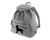 Bekleidung & AccessoiresHundesportwesten mit Hundemotiven inkl. Rückentasche MIL-TEC ®Canvas Rucksack Hunderasse: Briard - Berger De Brie
