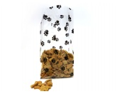 NeuheitenFolien Beutel: Hunde Pfoten  10er-Set  29 X 12cm