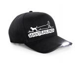 Kollektion -Mantrailing-Hundesport LED CAP Mantrailing 2 -schwarz-