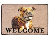 Tierische FußmattenStandard Fussmatte: Hund Staffordshire Bullterrier