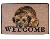 Tierische FußmattenStandard Fussmatte: Hund Border Terrier