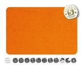 Wasser- & Futternäpfe für Hunde & KatzenWaschbare Napfunterlage: Orange 30 x 65 cm