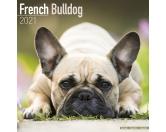 Schmuck & AccessoiresHunderassen-Broschen versilbertFranzösische Bulldogge - Hundekalender 2021 by Avonside