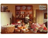 Wasser- & Futternäpfe für Hunde & KatzenTrixie Shaun das Schaf Napfunterlage Shauns Bakery 44 x 28 cm