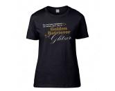 T-ShirtsFan-Shirts für HundefreundeHundespruch T-Shirt: Das sind keine Hundehaare, das ist Glitzer