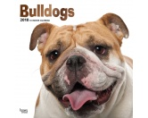 The Mountain FaceThe Mountain-Shirts HundeBulldogge - Hundekalender 2018 by BrownTrout