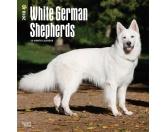 BrownTrout Hunde Kalender 2018Browntrout Hunde Wandkalender 2018: German Shepherd White - Deutscher Schäferhund Weiss