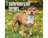 BrownTrout Hunde Kalender 2018Browntrout Hunde Wandkalender 2018: Staffordshire Bull Terrier