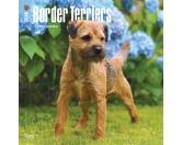 Aufkleber & TafelnHunderassen-AutoaufkleberBorder Terrier - Hundekalender 2018 by BrownTrout