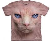 Tierkalender 2019Katzenkalender 2019The Mountain T-Shirt - Katze Hairless Pussycat Face -XL- Einzelstück