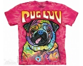 Tierkalender 2019Hundekalender 2019The Mountain T-Shirt - Mops Pug Luv