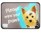 Tierische FußmattenFußmatte mit Hundespruch: Hund Yorkshire Terrier