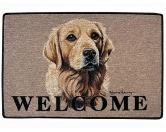 Tierische FußmattenStandard Fussmatte: Hund Golden Retriever