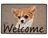 Tierische FußmattenStandard Fussmatte: Hund Chihuahua